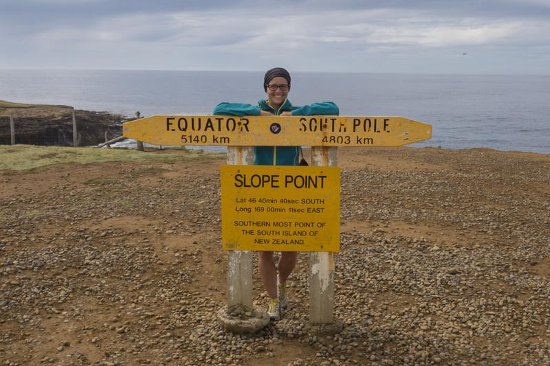 Slope Point Neuseeland Südinsel Highlight
