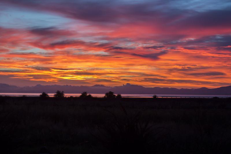 Sonnenaufgang Abel Tasman Neuseeland Südinsel Highlight