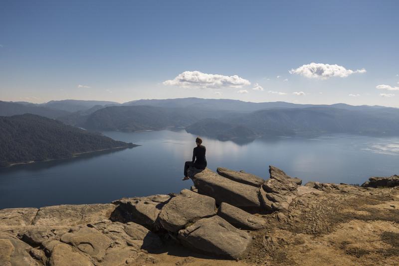 Aussicht Highlights Nordinsel Neuseeland Lake Waikaremoana