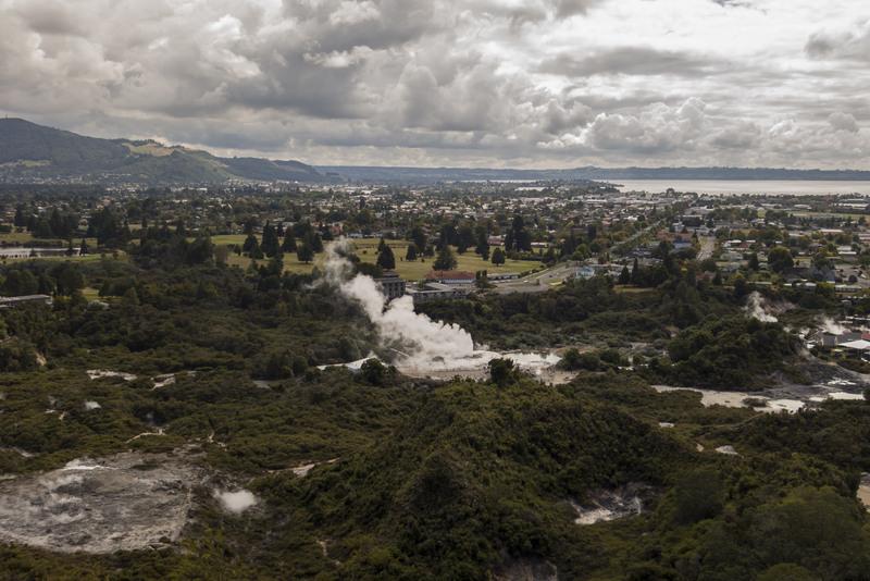 Geysir Pohutu Rotorua Neuseeland Highlights Nordinsel