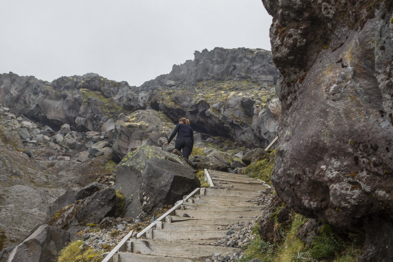 Mt Taranaki Summit Climb Highlights Nordinsel Neuseeland