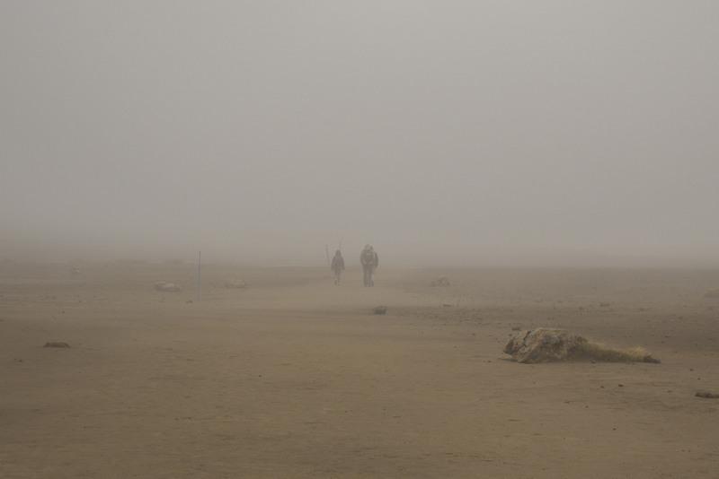 Nebel Tongariro Neuseeland Highlights Nordinsel