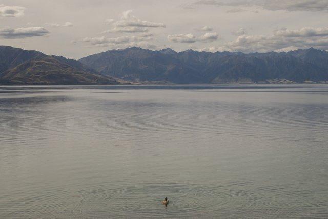 Neuseeland Reise Campervan Lake Hawea