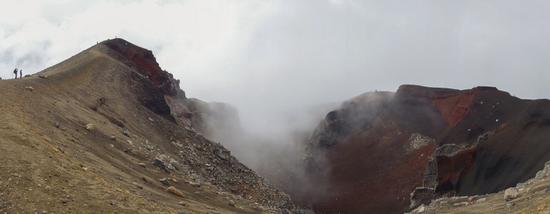 Red Crater Neuseeland Nordinsel Highlights