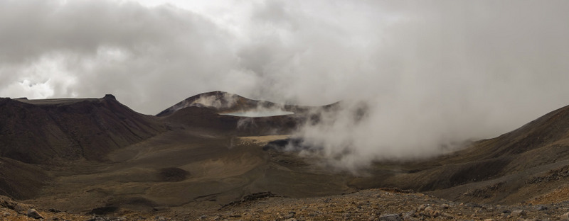 Tongariro Lakes Highlights Neuseeland Nordinsel