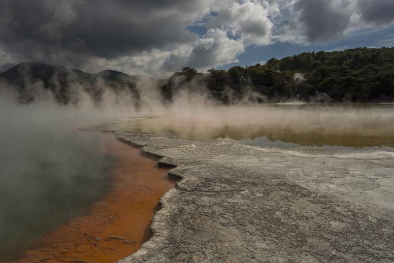 Wai-O-Tapu Thermal Wonderland Highlights Nordinsel Neuseeland