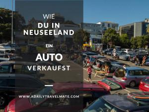 Neuseeland Auto Verkauf