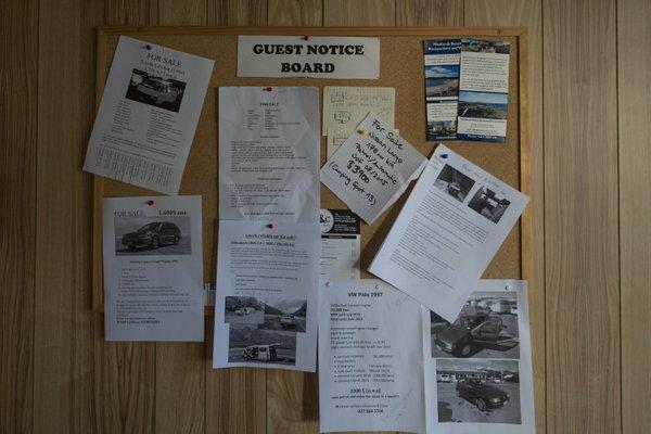 Neuseeland Auto Verkauf Flyer