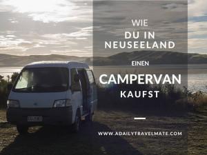 Neuseeland Campervan kaufen