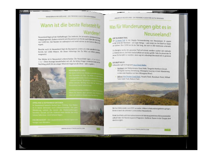 eBook Wandern in Neuseeland