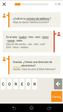 Sprache Reise lernen6