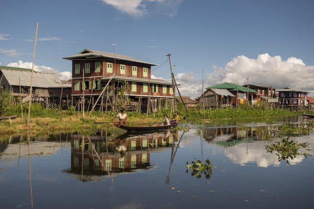 Inle See Myanmar Alltag