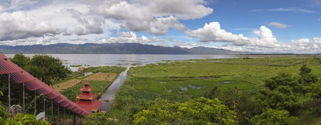 Myanmar Inle See Ausblick