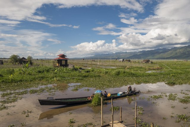 Myanmar Inle See Bootsfahrt