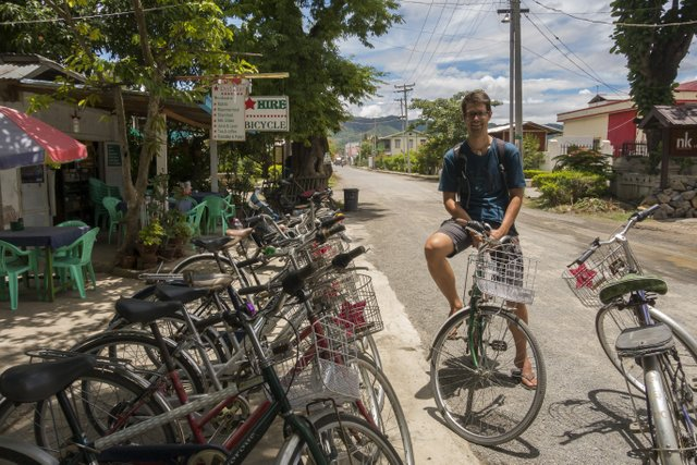 Myanmar Inle See Fahrrad Vermietung