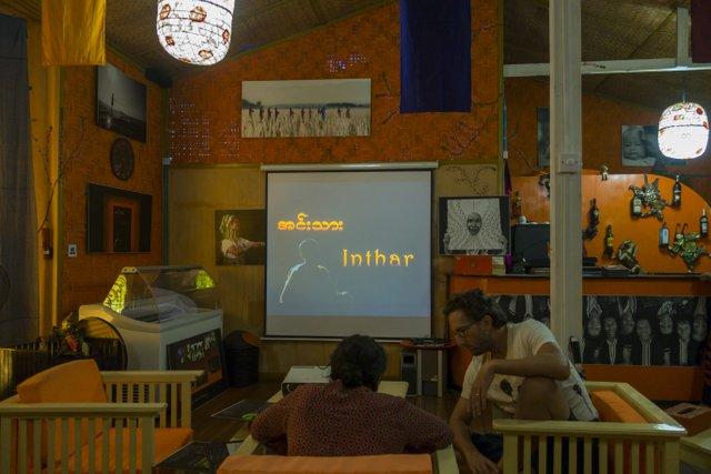 Myanmar Inle See Kinoabend