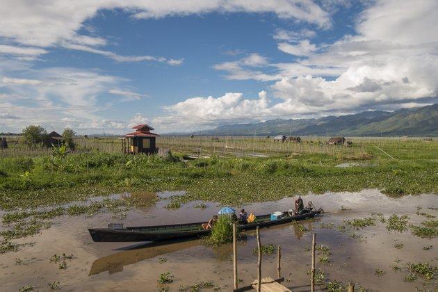 Myanmar Reisekosten Bootstour Inle See