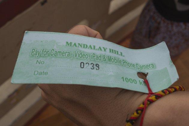 Myanmar Reisekosten Camera Fee