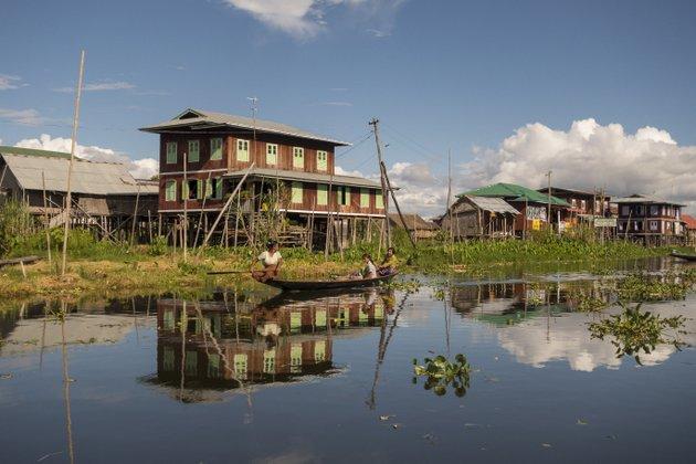 Myanmar Reisen Inle See
