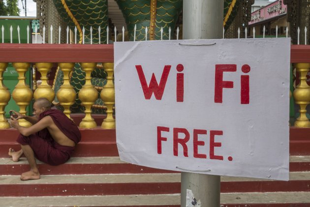Myanmar Reisevorbereitung Internet
