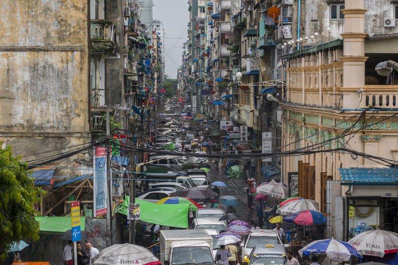Myanmar Reisezeit Yangon