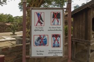 Myanmar Tempelbesuch