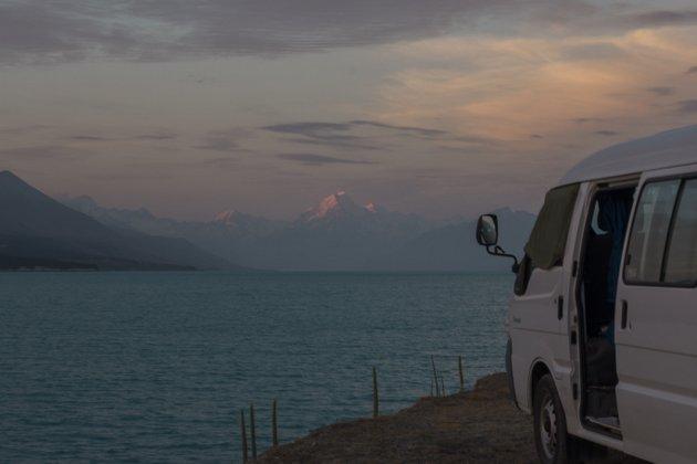 Lake Pukaki Neuseeland Campingplatz Roadtrip