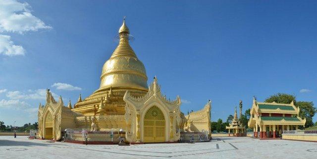 Myanmar Yangon Maha Wizara Pagode