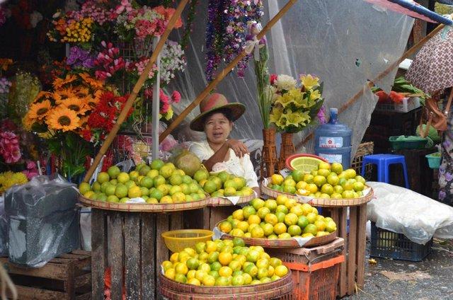 Myanmar Yangon Markt