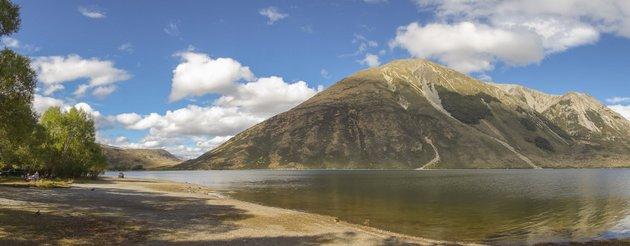 Neuseeland Campingplatz Roadtrip Lake Pearson