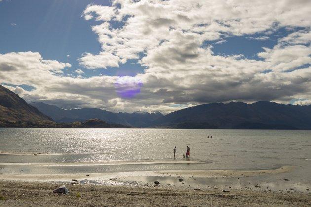 Neuseeland Campingplatz Roadtrip Lake Wanaka