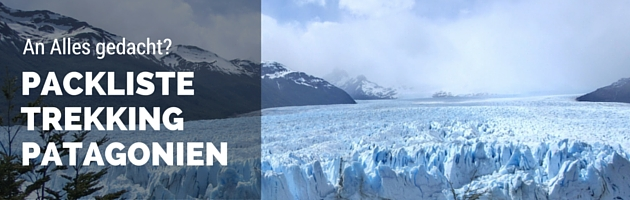 Packliste Patagonien