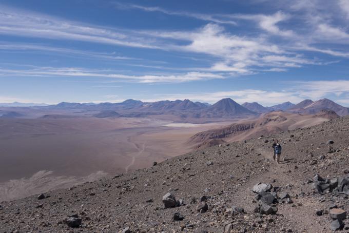 Trekking auf den Lascar Vulkan San Pedro de Atacama
