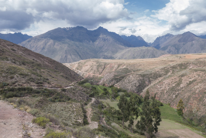 Trekking zu den Salzterassen Maras