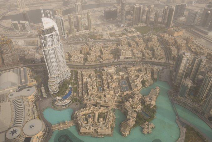 Dubai Tipps Blick vom Burj Khalifa