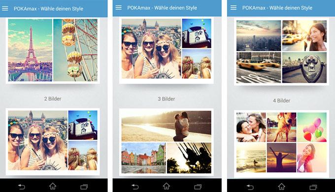 POKAmax App Postkarten verschicken