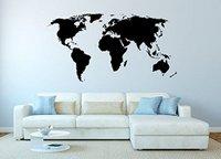 Geschenkidee Reisende Wandtatoo_Weltkarte
