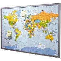 Geschenkidee Reisende Weltkarte