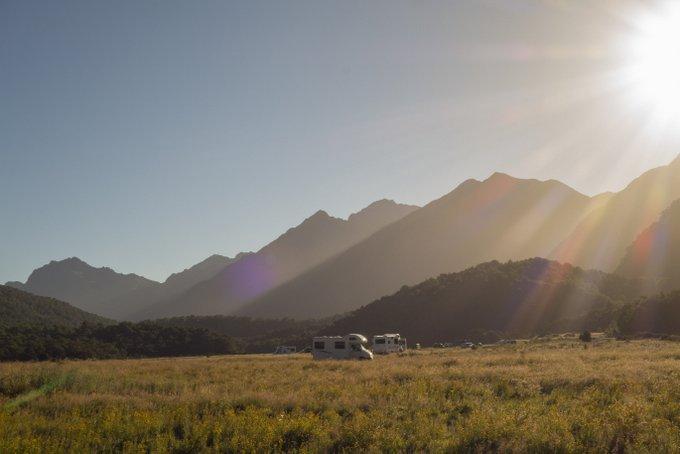 Camping Roadtrip Neuseeland DOC Campingplatz