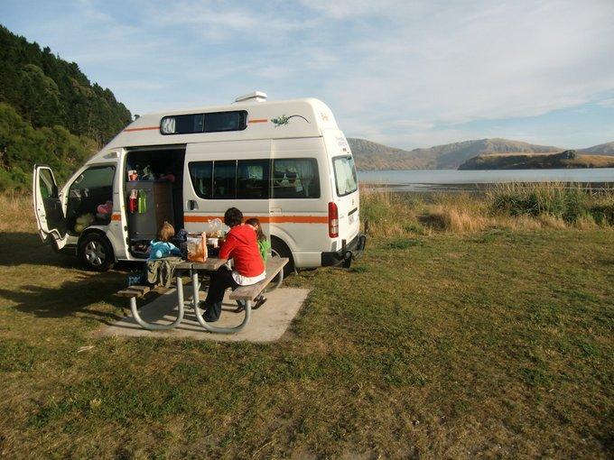 Freedom Camping Neuseeland Banks Peninsula
