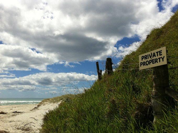 Freedom Camping in Neuseeland auf Privatland auf Nachfrage teilweise
