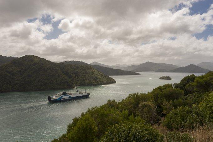 Neuseeland Reiseroute Südinsel Fähre von Picton