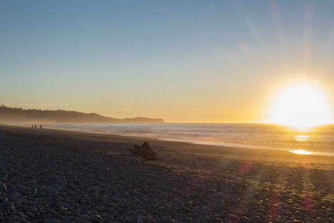 Neuseeland Reiseroute Südinsel Gillespies Beach