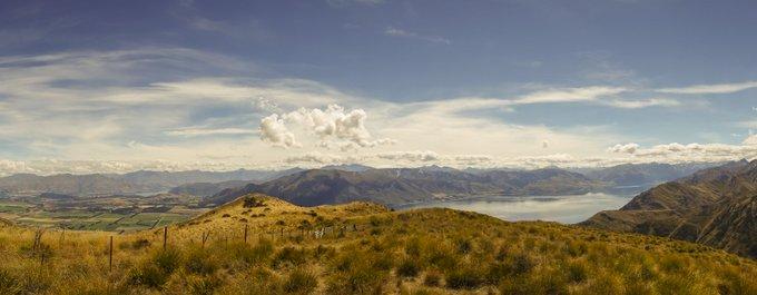 Neuseeland Reiseroute Südinsel Lake Wanaka Lake Hawea