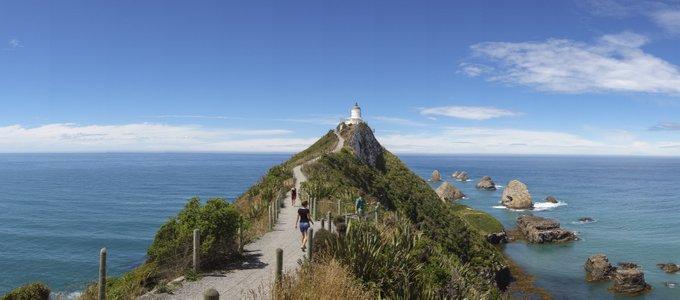 Neuseeland Reiseroute Südinsel The Catlins Nugget Point