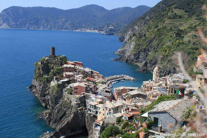 Outdoor Europa Cinque Terre Thomas Reisen und Essen