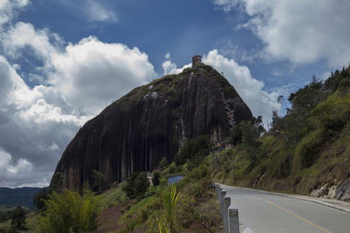 Reisekosten Kolumbien Peñón de Guatapé