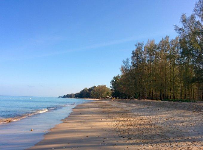 Aktivurlaub Thailand Yoga am Strand