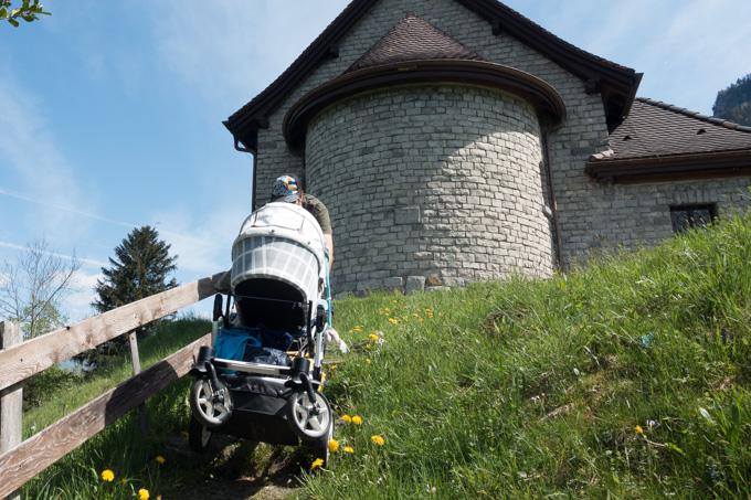 Reisen mit Baby Interview Reisenzoom Hartan Stock und Stein Schweiz