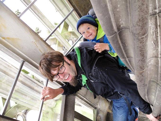 Reisen mit Baby Interview Reisezoom Auf dem Ulmer Münster